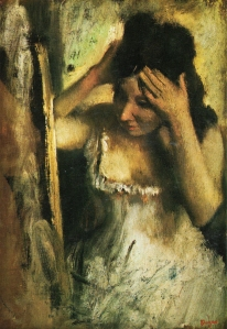 Degas _ Woman in front of Mirror