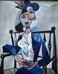 Sitting Woman by Picasso