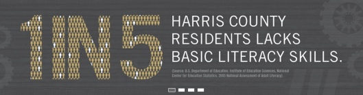 1 in 5 Harris County residents lacks basic literacy skills