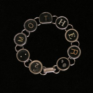 Typewriter Mother Bracelet