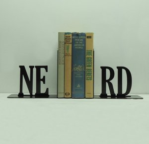 Nerd Bookends