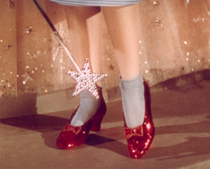 writing lessons, wizard of oz, ruby slippers, wicked witch, auntie em, writers, #amwriting